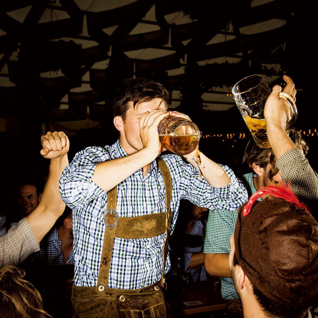 เทศกาลเบียร์, เครื่องดื่มแอลกอฮอล์