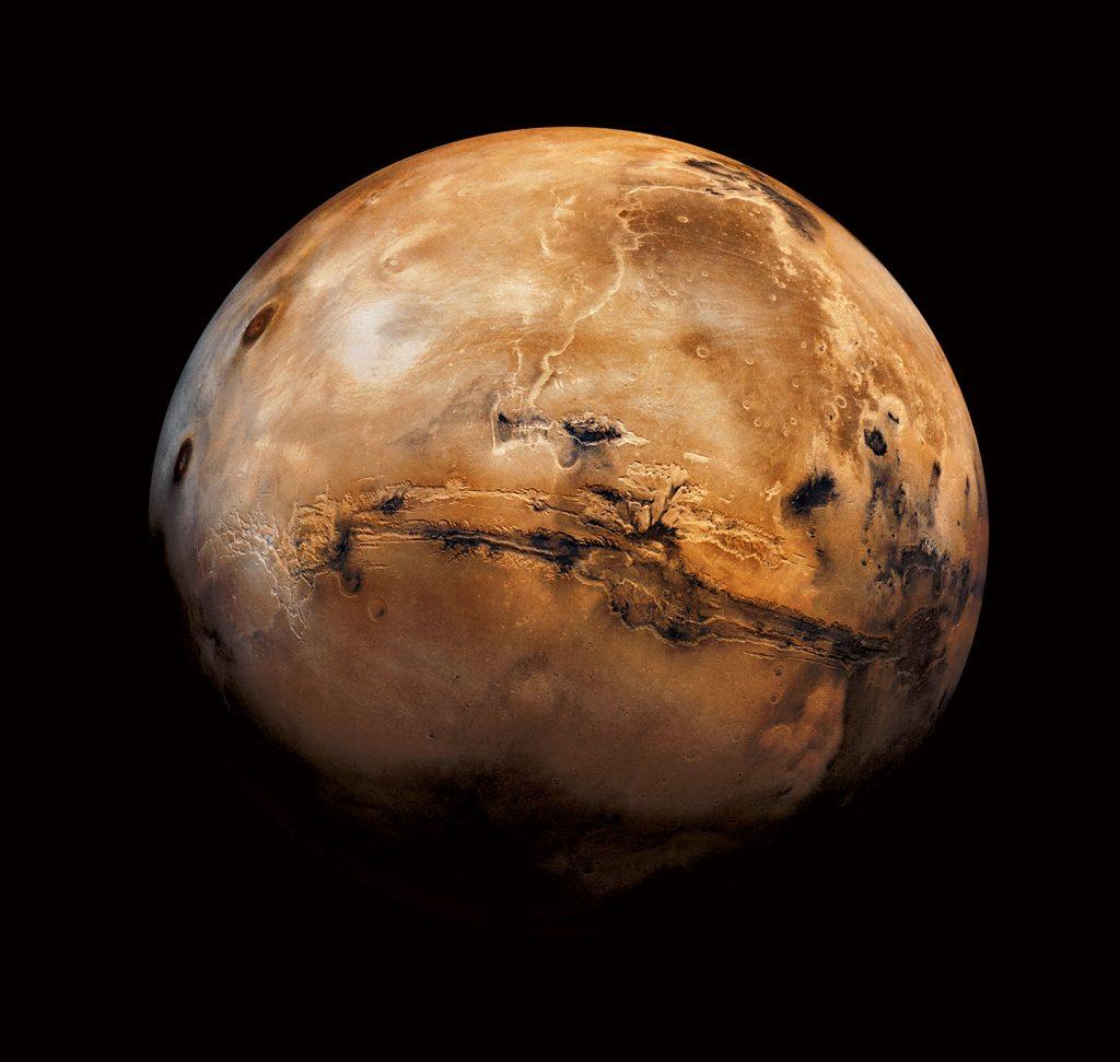 ดาวอังคาร, ดาวเคราะห์, ดวงดาว, ระบบสุริยะ