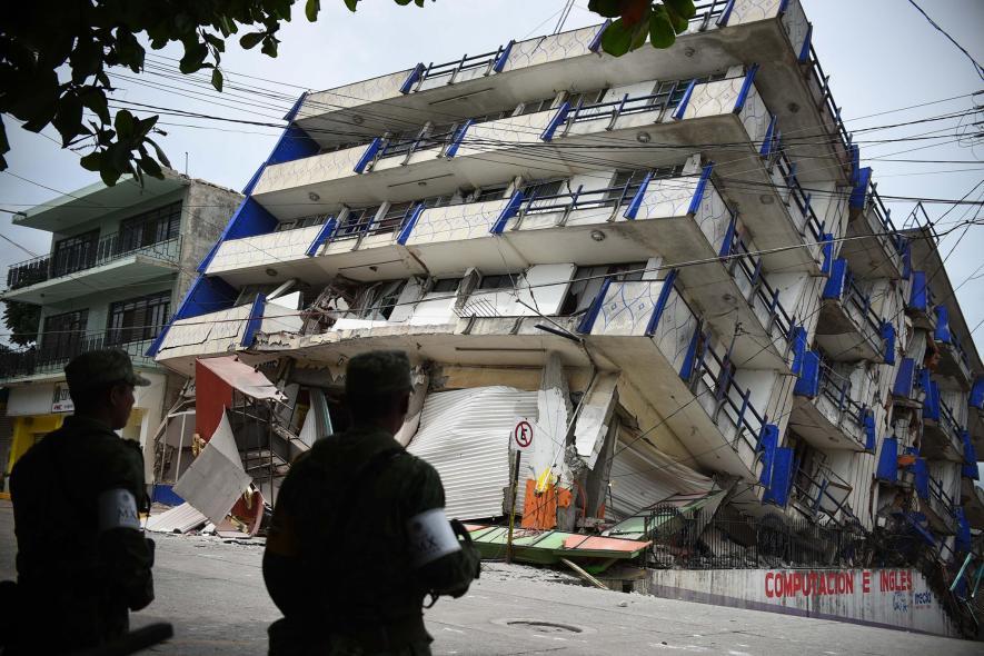 แผ่นดินไหวในเม็กซิโก