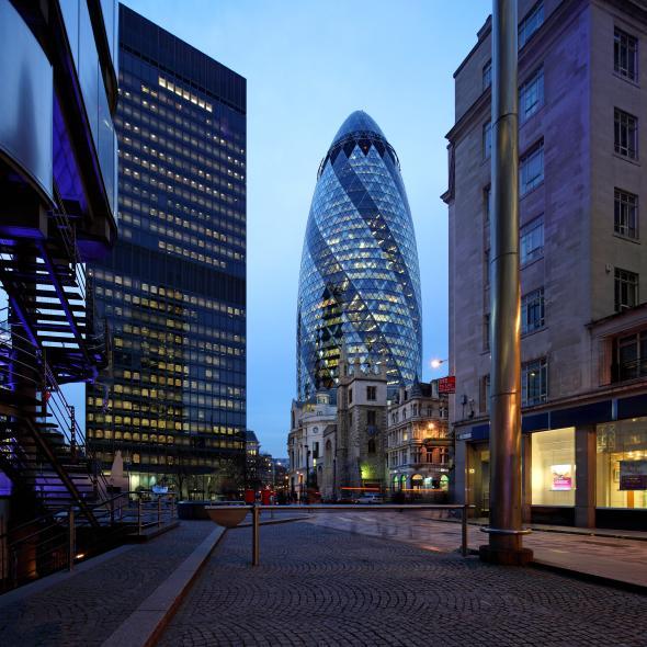 30 เซ็นต์แมรีแอกซ์ : กรุงลอนดอน