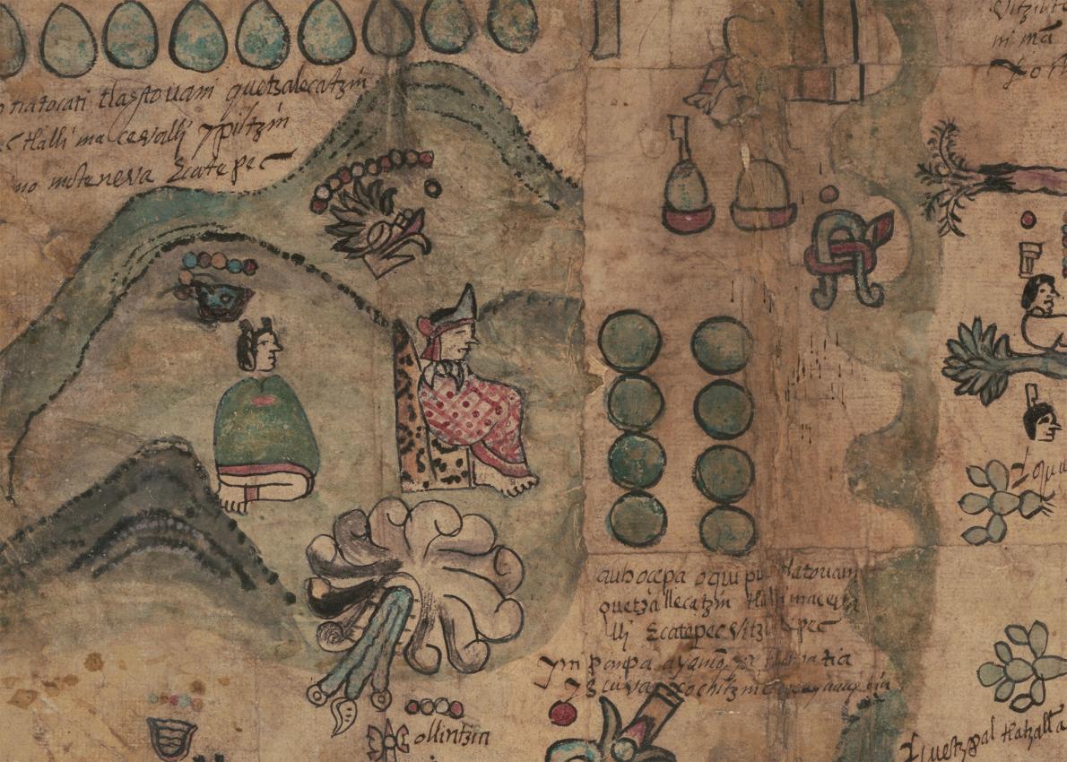 แผนที่เก่า ชาวแอซเท็ก
