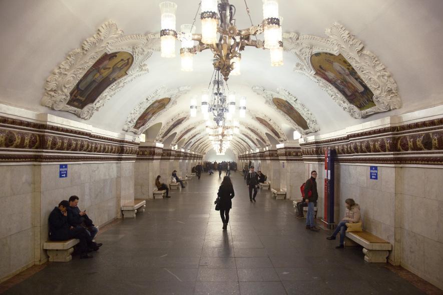 สถานีรถไฟใต้ดินในมอสโก
