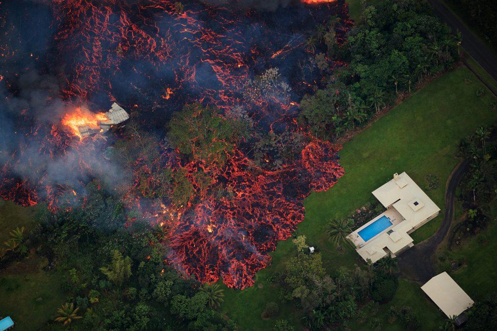 บ้านใกล้ภูเขาไฟ