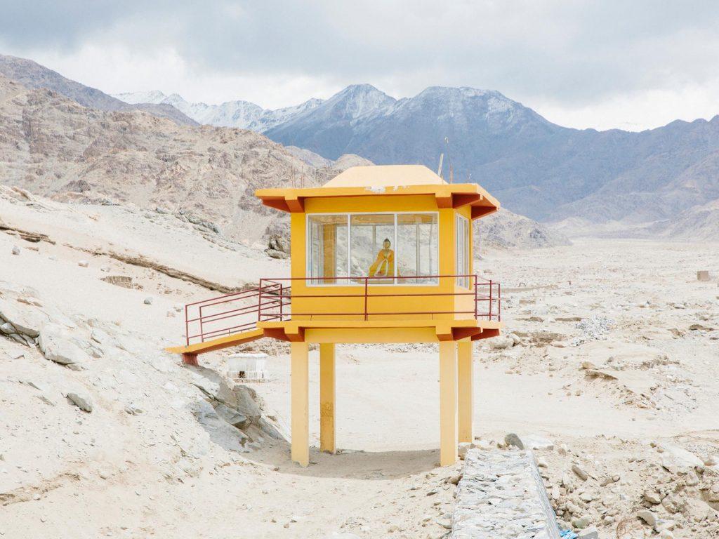 พระพุทธรูปกลางทะเลทรายของลาดักห์