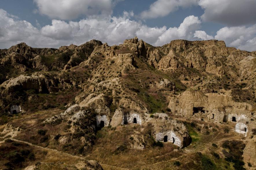 ชีวิตในถ้ำ ถ้ำในสเปน