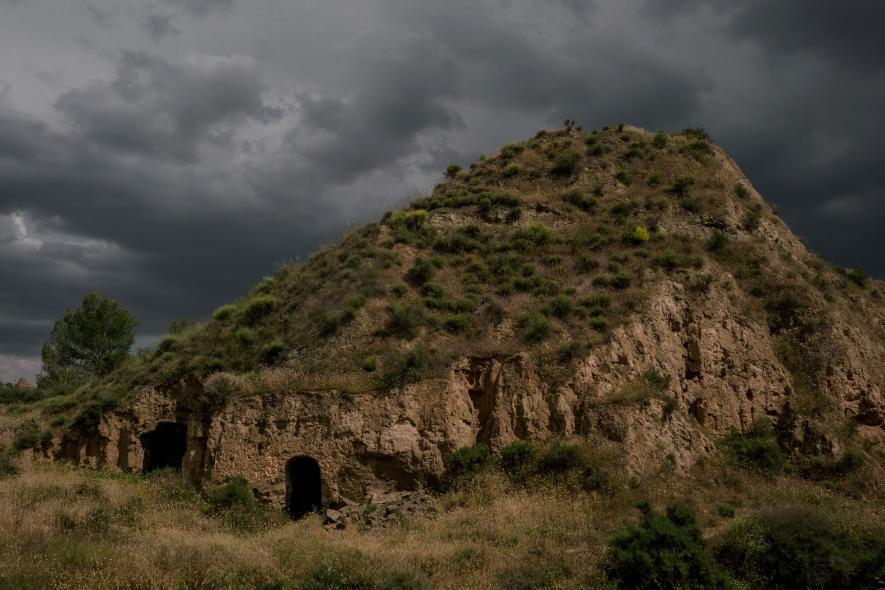 ชีวิตในถ้ำ หมู่บ้านถ้ำ Benalúa ตอนใต้ของสเปน