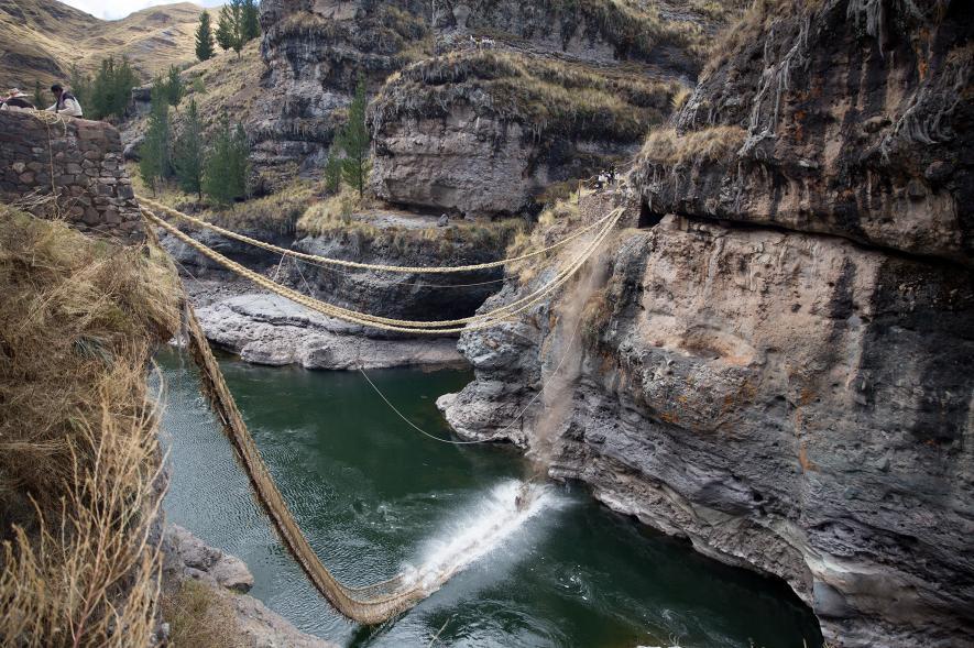 สะพานเชือกชาวอินคา