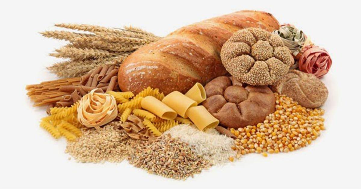 คาร์โบไฮเดรต, สารอาหารที่ให้พลังงาน, ข้าว, แป้ง, ขนมปัง