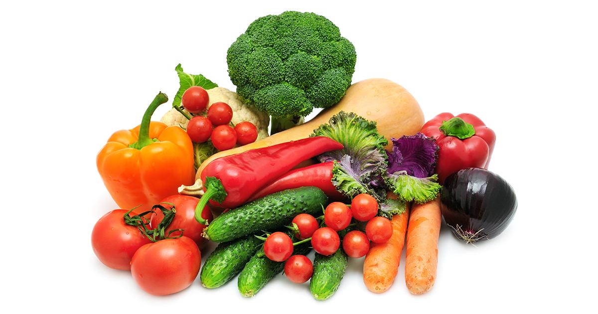วิตามิน, ผัก, ผลไม้, อาหาร, สารอาหารที่ไม่ให้พลังงาน