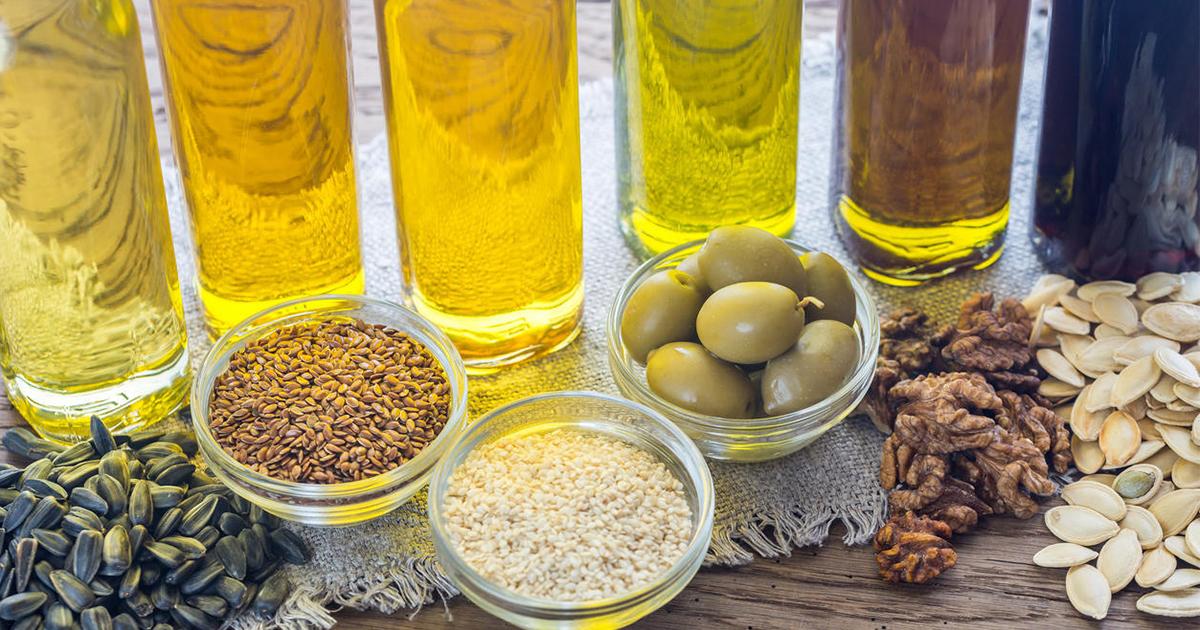 ไขมัน, สารอาหารที่ให้พลังงาน, น้ำมันพืช, เนย,