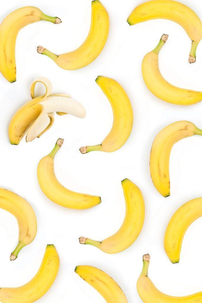 กล้วย, กล้วยหอม. อาหารที่มีเอนไซม์, โพแทสเซียม