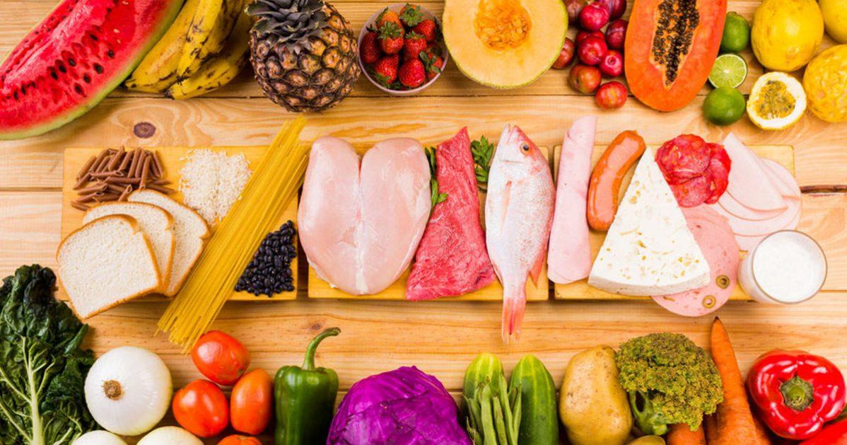 สารอาหารที่ให้พลังงาน, อาหาร, โปรตีน. คาร์โบไฮเดรต, ไขมัน