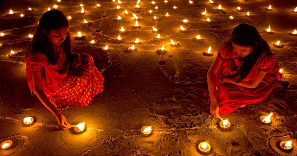 ดิวาลี, เทศกาล, ฮินดู, อินเดีย, เทศกาลแห่งไฟ