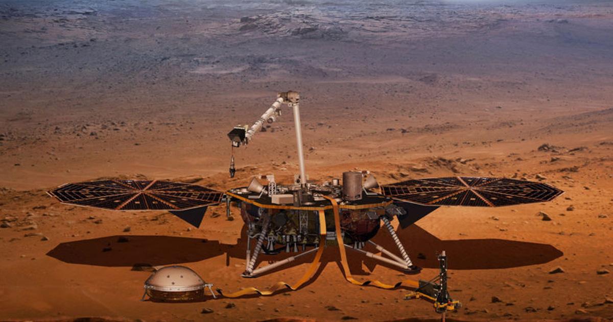 แผ่นดินไหวบนดาวอังคาร