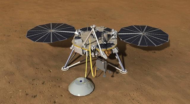 InSight, NASA, ดาวอังคาร, การสำรวจดาวอังคาร, เทคโนโลยีอวกาศ