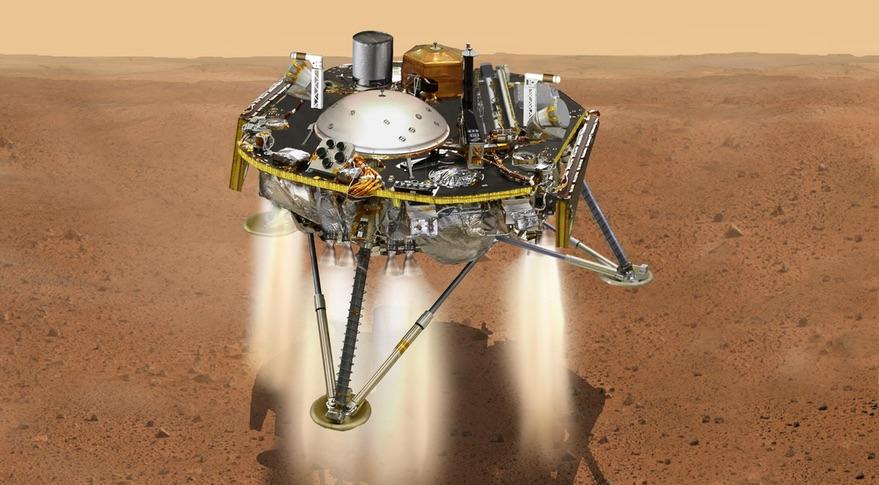InSight, ดาวอังคาร, การสำรวจดาวอังคาร, เทคโนโลยีอวกาศ