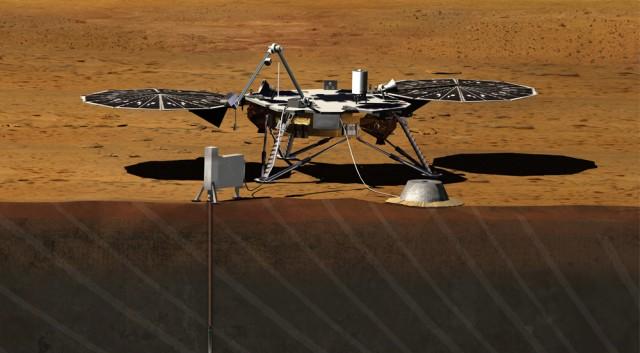 InSight, ดาวอังคาร,