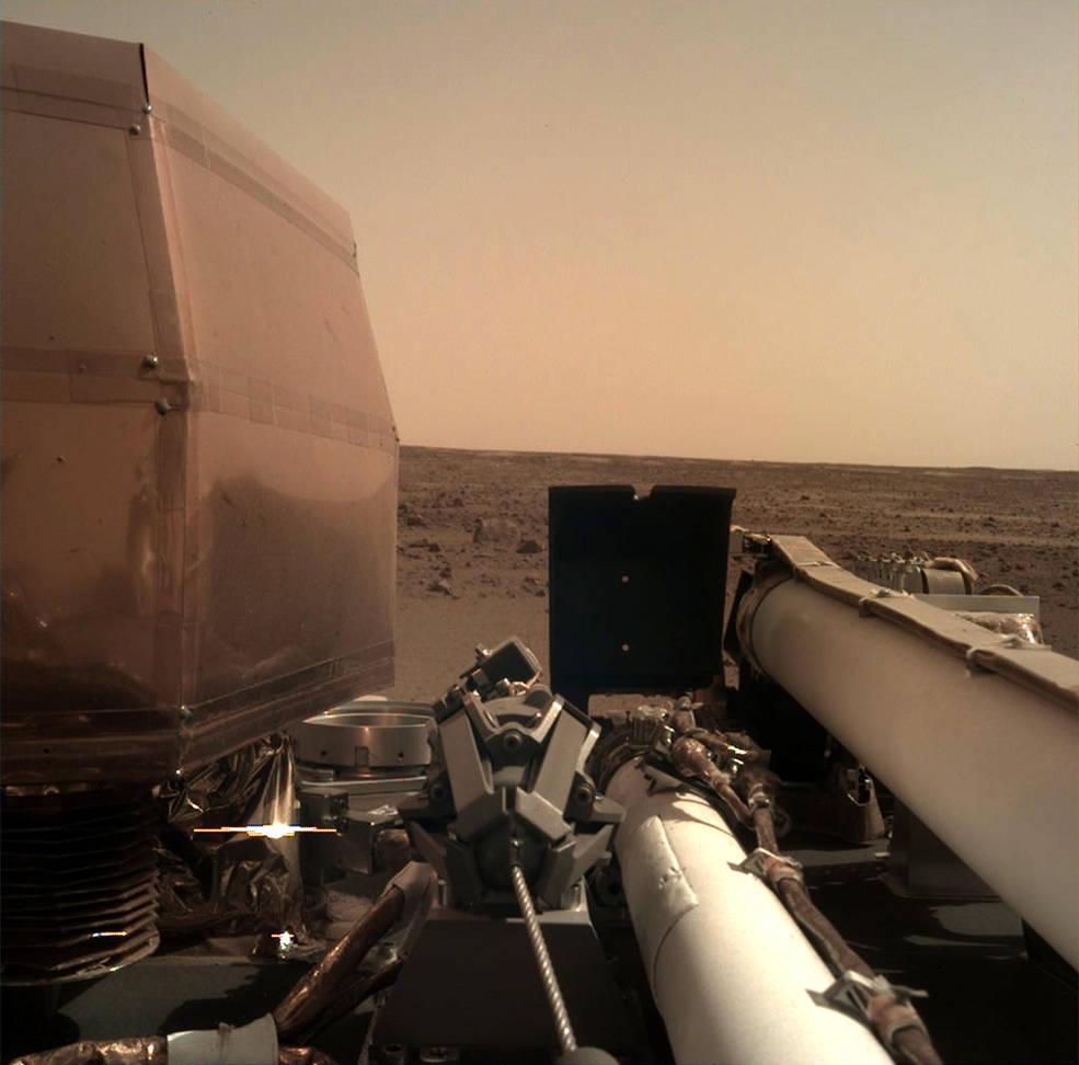 ภาพถ่ายดาวเทียม, InSight, ยานอวกาศ, ดาวอังคาร, การสำรวจดาวอังคาร