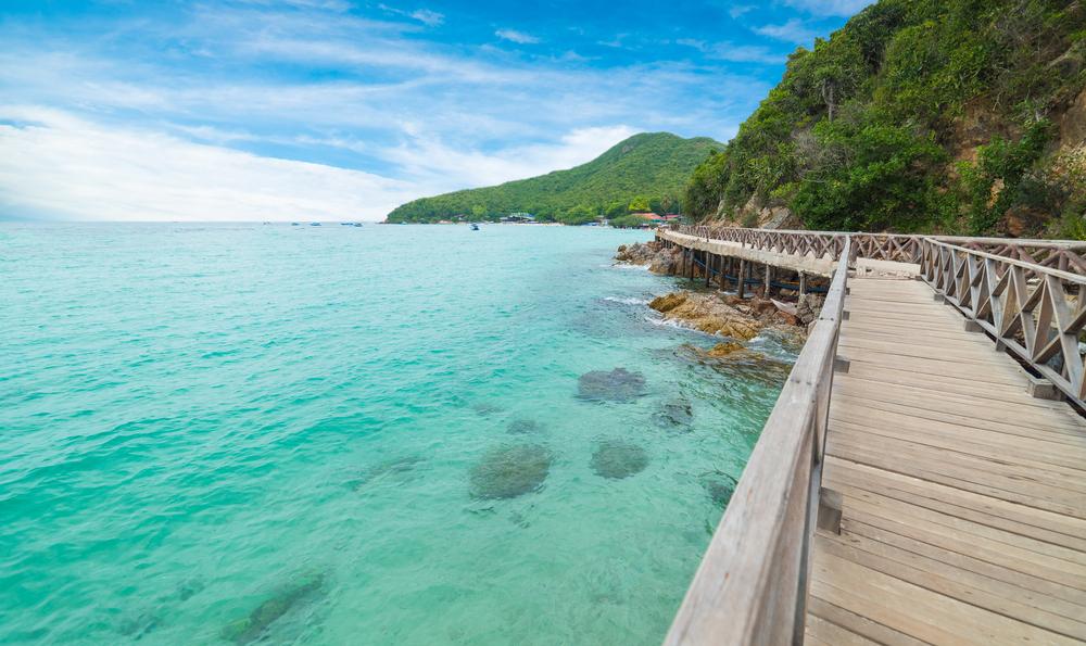 เกาะล้าน, ทะเลหน้าหนาว, ทะเล, พัทยา, ชลบุรี, น้ำใส