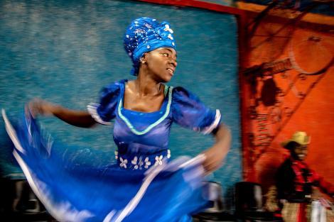 การเต้นรำ, คิวบา, คิวบา, แอฟริกัน