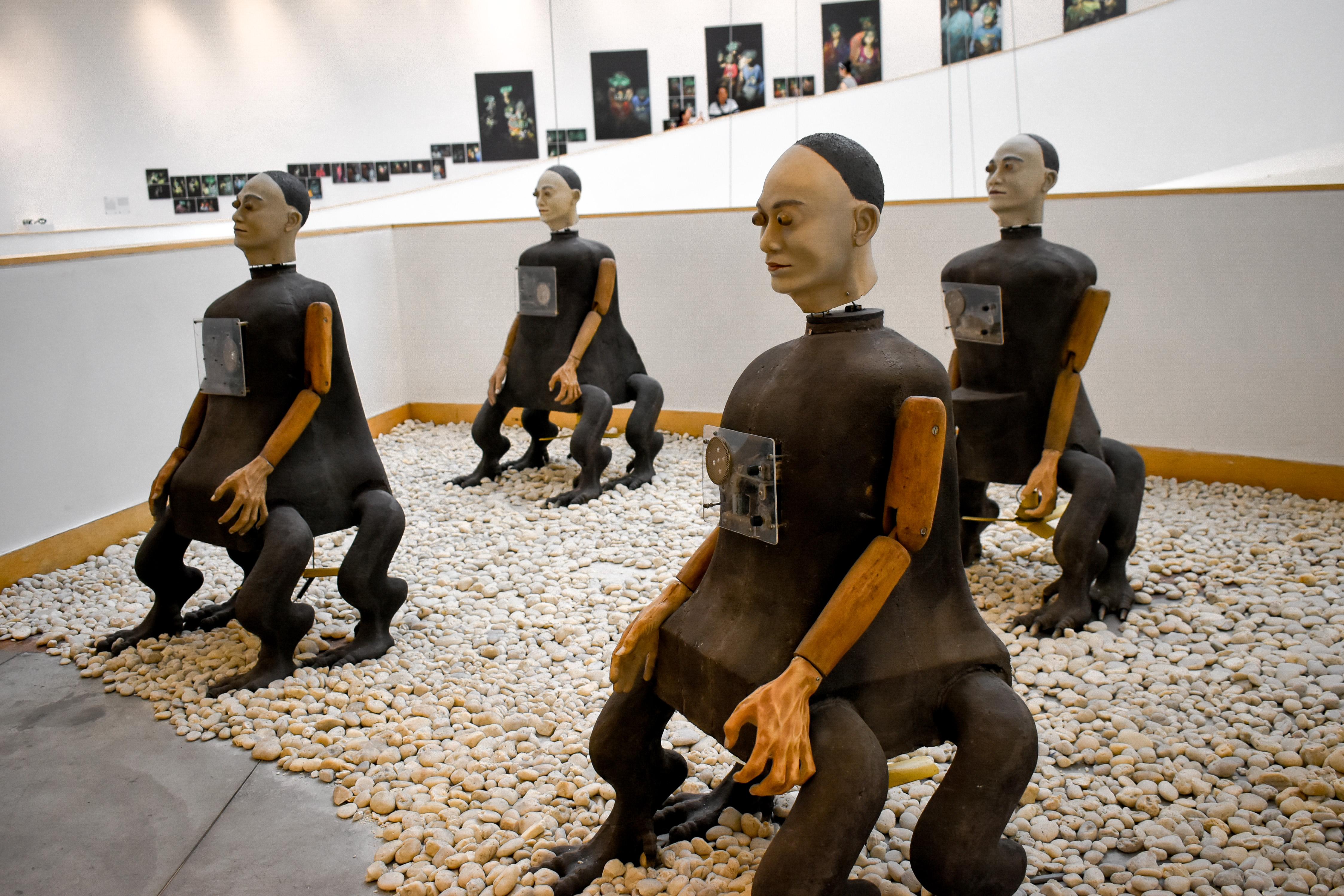 งานศิลปะ, หนังตะลุง, หอศิลป์, หุ่นเชิด, อินโดนีเซีย
