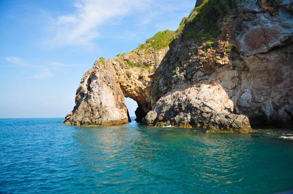 เกาะทะลุ, เกาะเสม็ด, ทะเล, ดำน้ำ