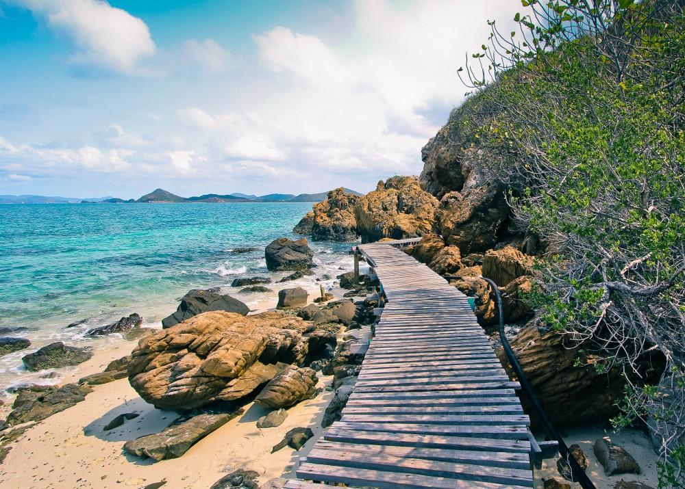 เกาะขาม, เกาะเสม็ด, ทะเล, ดำน้ำ, ปะการัง, เกาะกรวย
