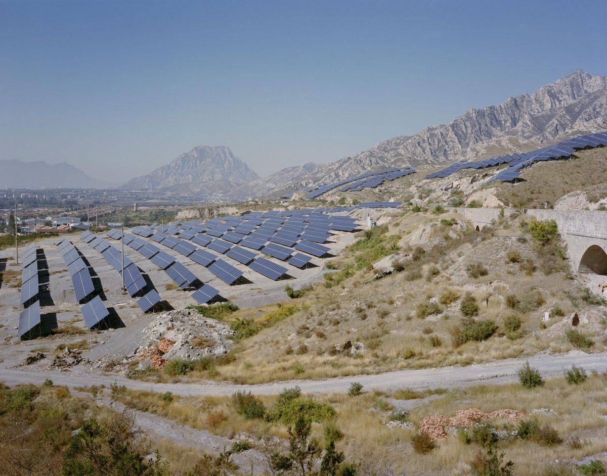 ทรัพยากรจีน, แผงพลังงานแสงอาทิตย์