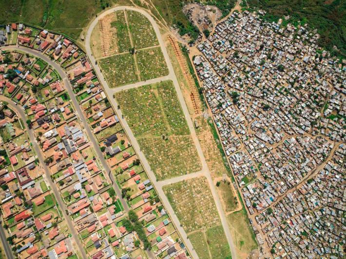 ความไม่เท่าเทียม, แอฟริกาใต้,