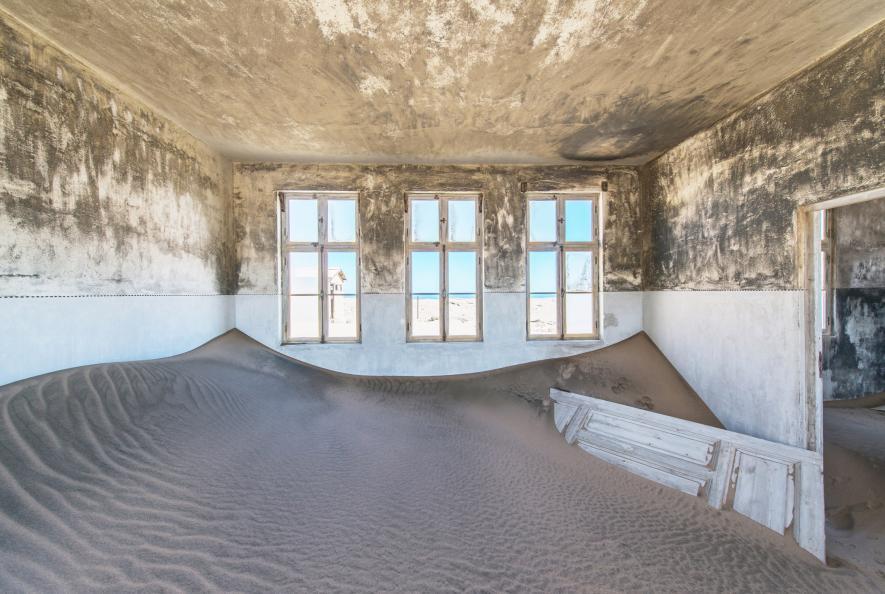 นามีเบีย, ทะเลทรายนามีเบีย, Kolmanskop