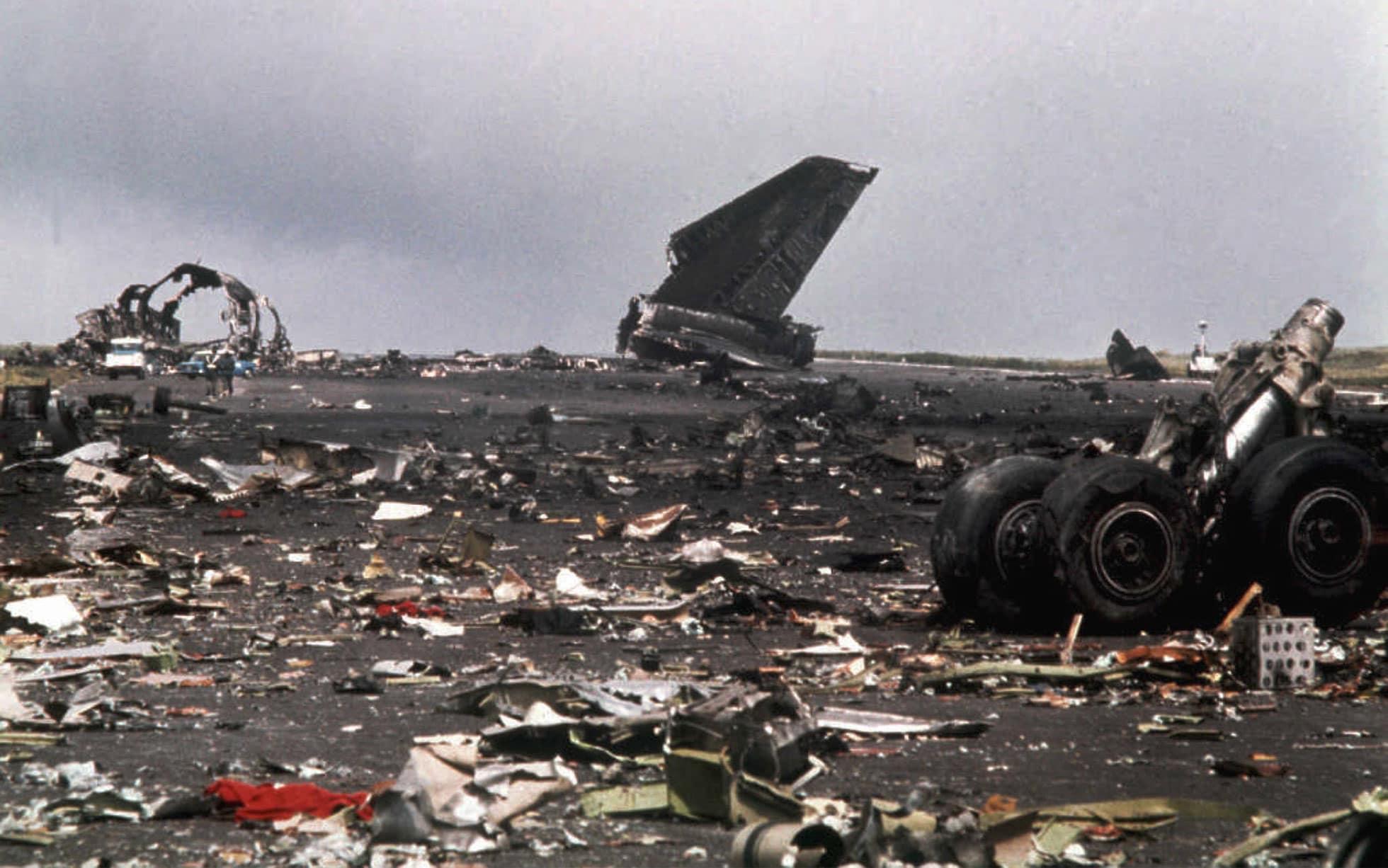 อุบัติเหตุทางเครื่องบิน, สนามบินเตเนริเฟ