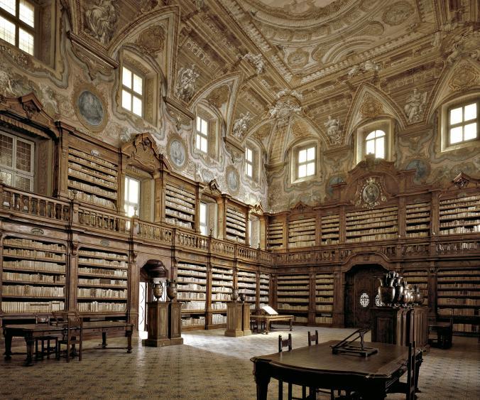 ห้องสมุด, อิตาลี