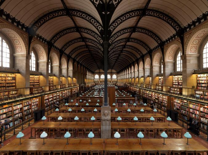 ห้องสมุด, ปารีส, ฝรั่งเศส