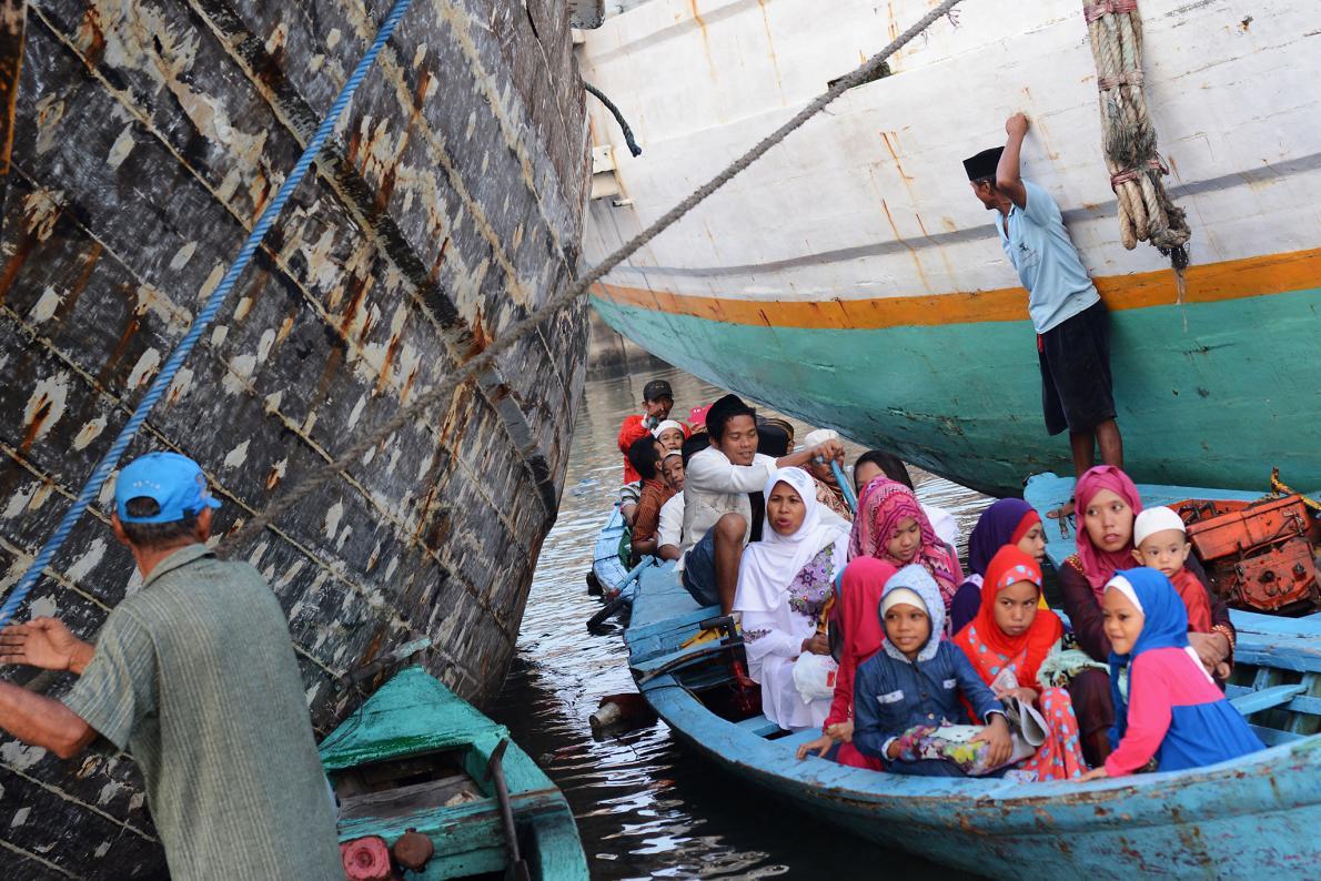 กลับบ้าน, วันอิฎิ้ลฟิตริ, เทศกาล, อินโดนีเซีย