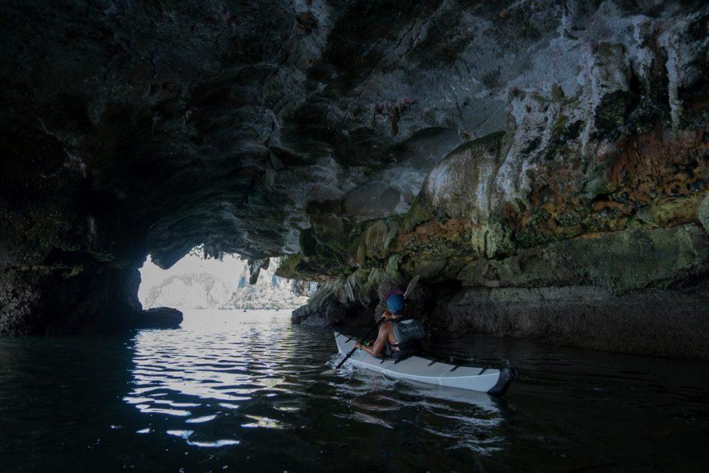 ถ้ำ, แคนยอน, เขาหินปูน, เรือคายัค