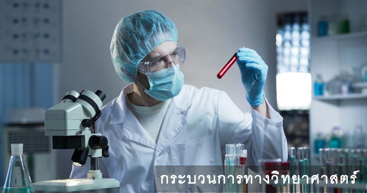 ทักษะทางวิทยาศาสตร์, กระบวนการทาวิทยาศษสตร์,
