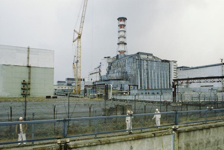 เชอร์โนบิล, โรงไฟฟ้านิวเคลียร์,