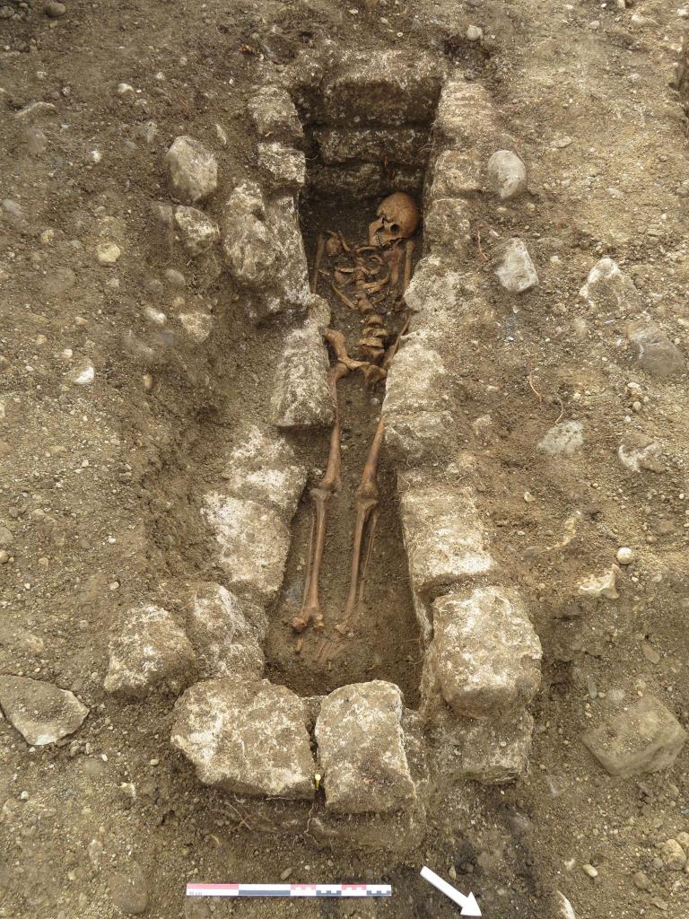 ชาวโรมัน, หลุมศพชาวโรมัน