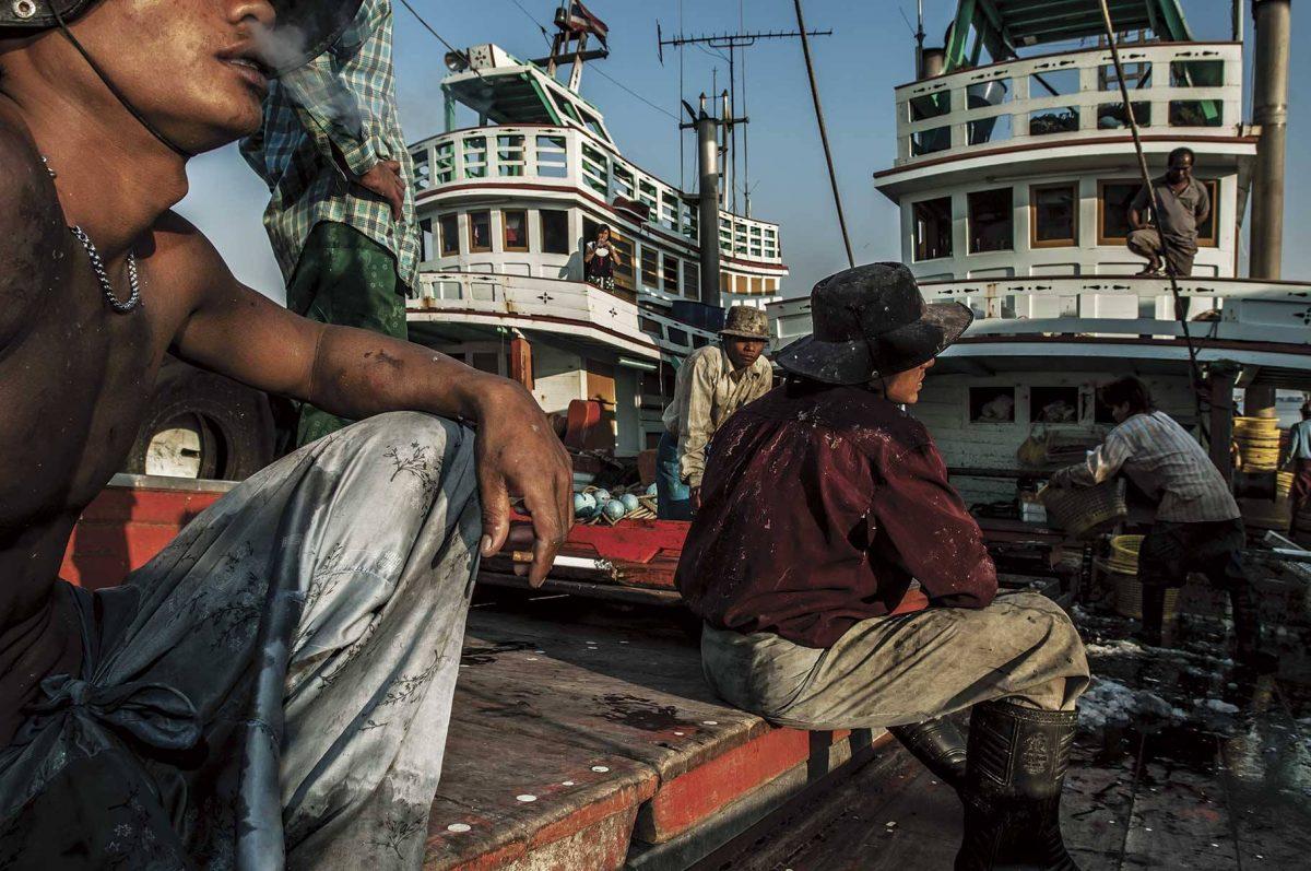 แรงงานพม่า, เรือประมง