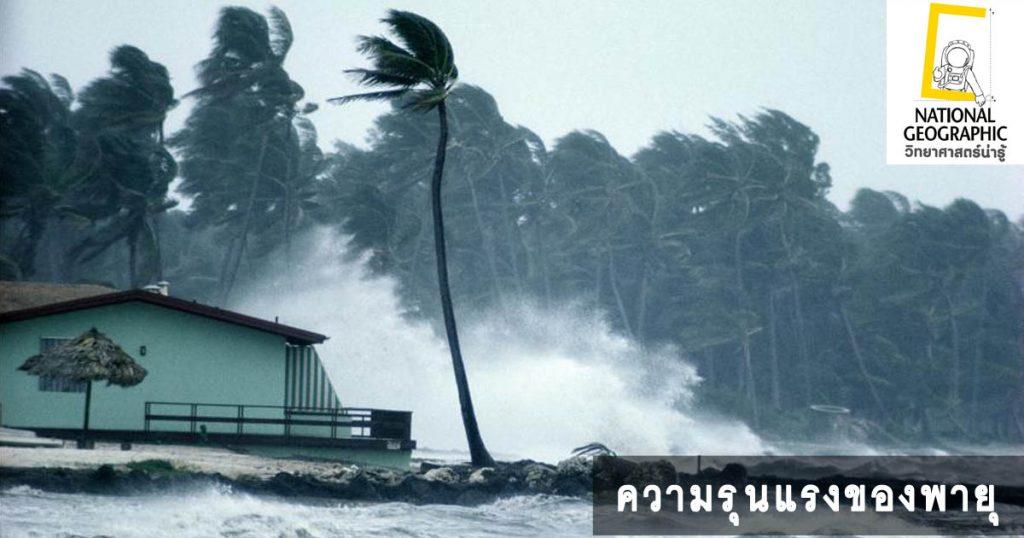 ความรุนแรงของพายุ