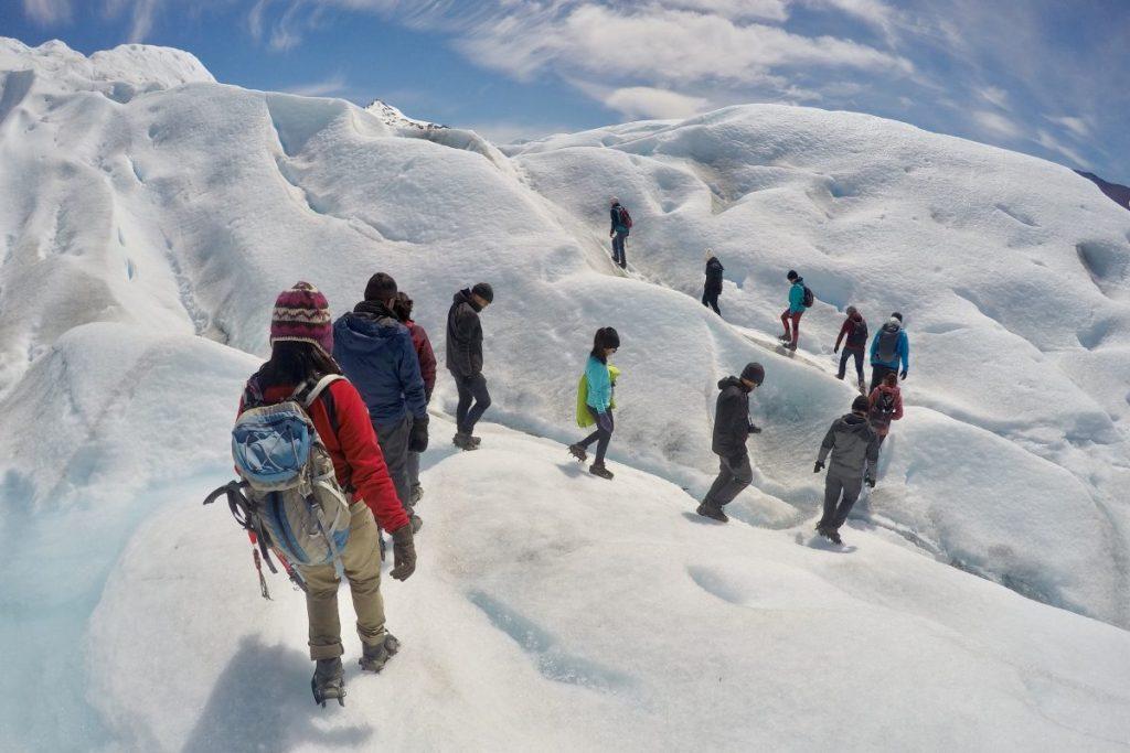 เทรกกิ้ง, เดินบนธารน้ำแข็ง, เปริโตโมเรโน