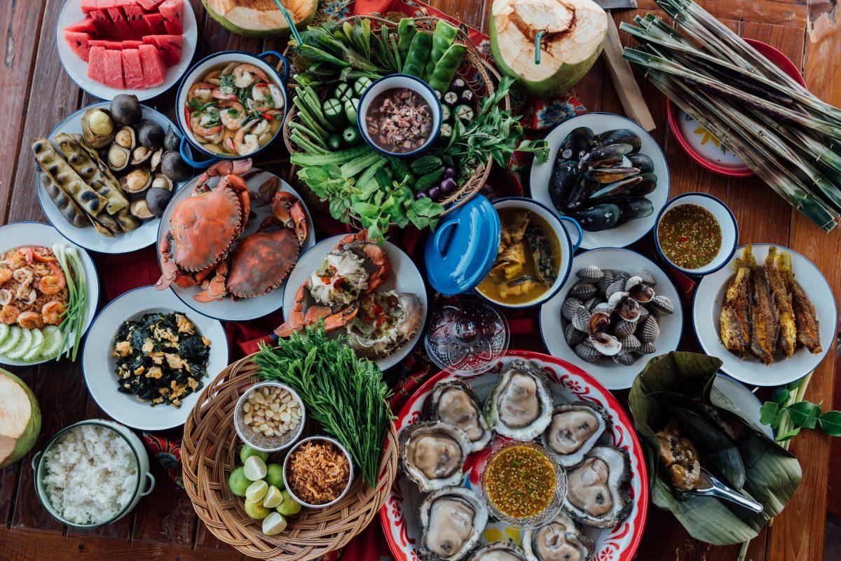 อาหารทะเล, ขนำน้อยหอยใหญ่