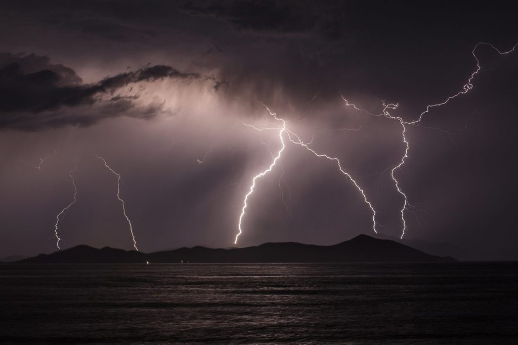 พายุ, ประเภทของพายุ, พายุฝนฟ้าคะนอง