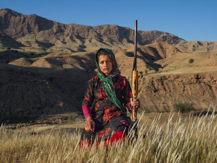 ช่างภาพหญิง, อิหร่าน, เด็กหญิง