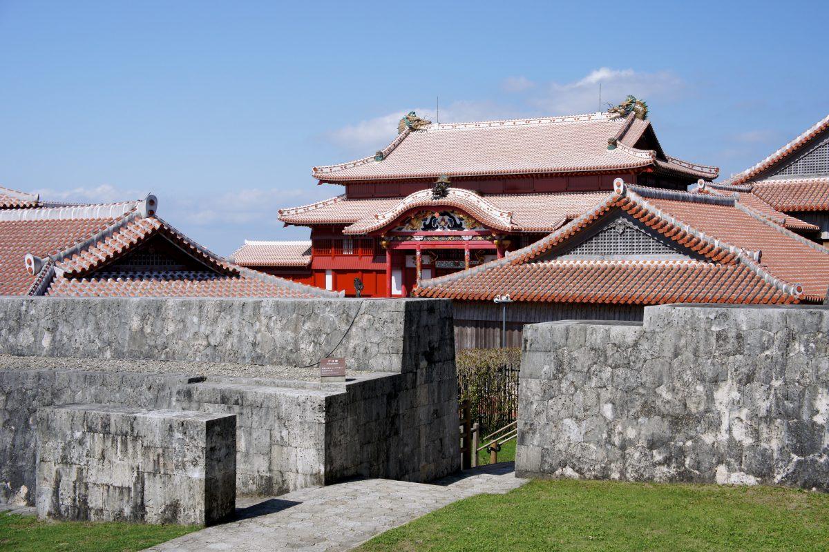 ปราสาทชูริ, โอกินาวา