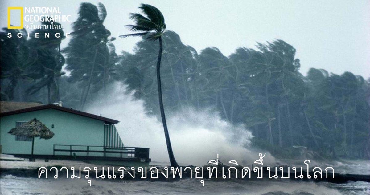 ความรุนแรของพายุ