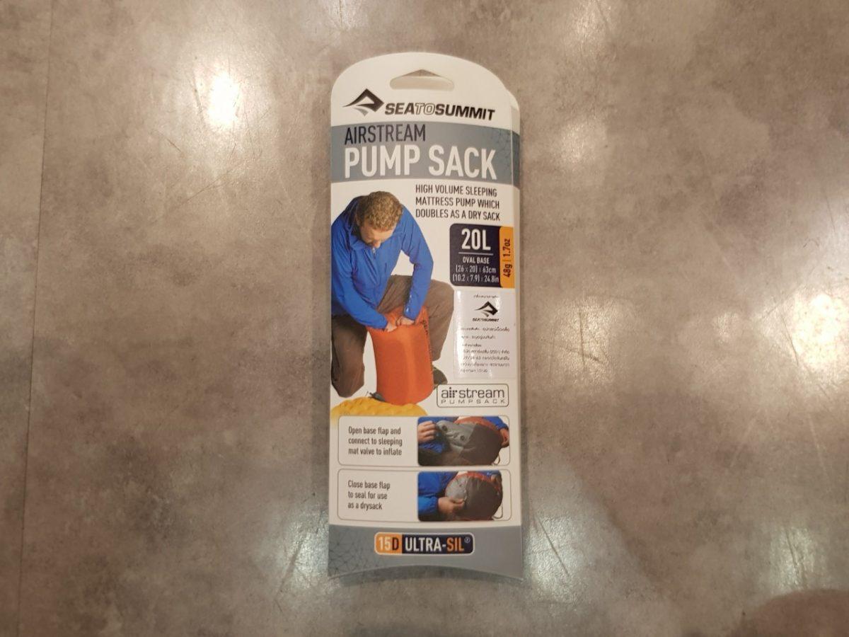 อุปกรณ์เดินป่า, pump sack