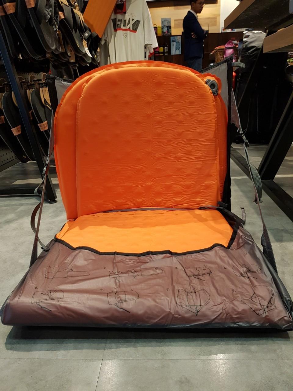 อุปกรณ์เดินป่า, air chair