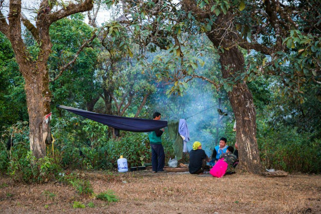 เดินป่า, แม่ฮ่องสอน, ขุนน้ำเงา, Fjallraven Thailand Trail, ชาวกะเหรี่ยง