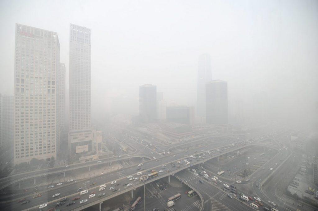 ฝนกรด, มลพิษทางอากาศ